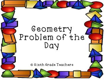 Geometry Warm Ups