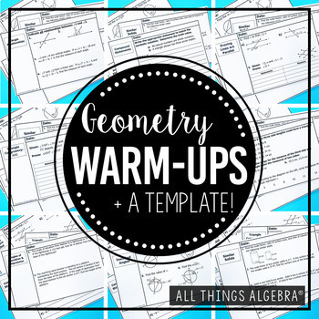 Geometry Warm-Ups