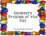 Geometry Warm Ups Sample