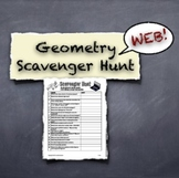 Geometry Web Scavenger Hunt