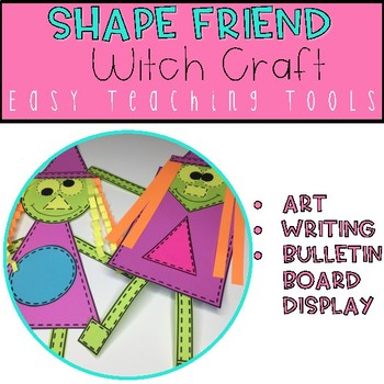 Geometry Witch Shape Craft for Halloween