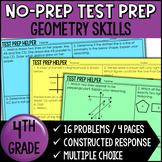 Geometry Word Problems {4th Grade Common Core Test Prep Helper}