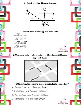 Geometry Word Problems **TEKS Aligned**