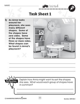 Geometry: Word Problems Vol. 1 Gr. PK-2