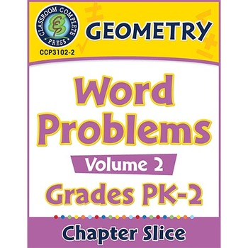 Geometry: Word Problems Vol. 2 Gr. PK-2
