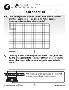 Geometry: Word Problems Vol. 5 Gr. PK-2