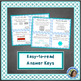 Geometry Word Problems: Winter Theme (Quadrilaterals and Partitioning)