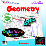 Geometry  Interactive Word Search Puzzle and Vocabulary wi