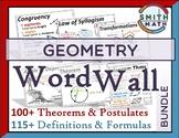 Geometry Word Wall - Bundle