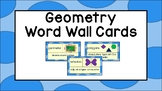 Geometry Word Wall Cards