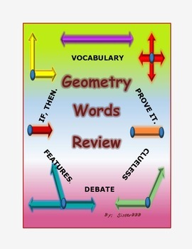 Geometry Words Review
