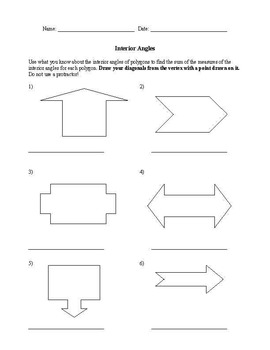 Geometry Worksheet Compilation