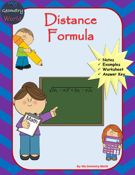 Geometry Worksheet: Distance