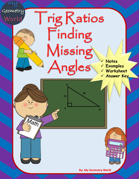 Geometry Worksheet: Finding Missing Angles