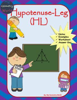 Geometry Worksheet: Hypotenuse Leg