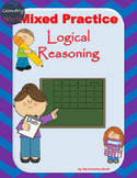 Geometry Worksheet: Mixed Practice - Logical Reasoning