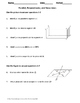 Geometry Worksheet: Parallel, Perpendicular, and Skew Lines