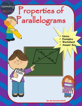 Geometry Worksheet: Parallelograms