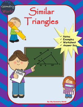 Geometry Worksheet: Similar Triangles