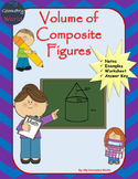 Geometry Worksheet: Volume of Composite Figures
