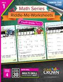 4th Grade Math Worksheets – Fourth Grade Math Pack 1 - Mat