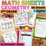 Geometry Worksheets | Printable & Digital