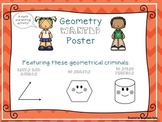 Geometry Writing and Math Activity