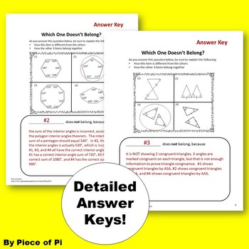 Geometry Writing in Math Activities Journaling