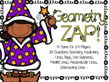 Geometry ZAP! A Review Game