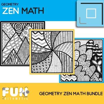 Geometry Zen Math Bundle 1