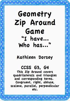 Geometry Zip Around