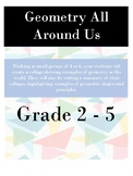 Geometry All Around Us - Suitable Grade 2 - 5 - Project Based