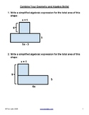Geometry and Algebra Problems - Simplify compound areas, n