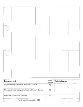 Geometry and Area: Valentine's Day