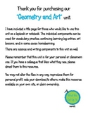 Geometry and Art Unit