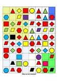 Geometry and Fractions Puzzle