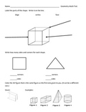 Geometry and Fractions Test