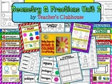 Geometry and Fractions Unit #2 from Teacher's Clubhouse