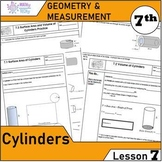 Geometry and Measurement (Grade 7) - Lesson 7 Cylinders