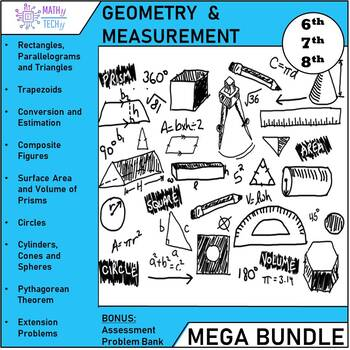 Geometry and Measurement (Grade 7) - Unit Bundle
