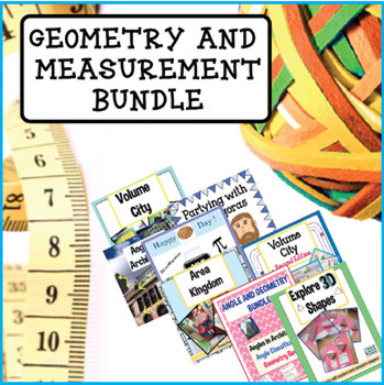 Geometry and Measurement Bundle - Grades 2-5
