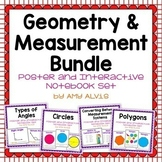 Geometry and Measurement Bundle Posters and Interactive No