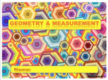 Geometry and Measurement Digital Interactive Math Notebook