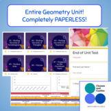 Geometry and Measurement ENTIRE Unit- DISTANCE Learning [G