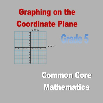 Coordinate Plane Lessons Day 1 and Day 2