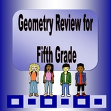 Geometry and Measurement Jeopardy Game for 5th Grade