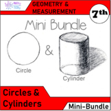 Geometry and Measurement Mini Bundle - Circles and Cylinders
