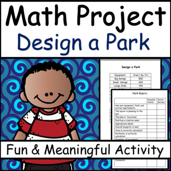 math project design a park area and perimeter