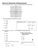 Geometry and Measurement Test Prep
