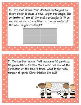 Geometry and MeasurementTask Cards Grade 3 NYS Module 7 Part 2
